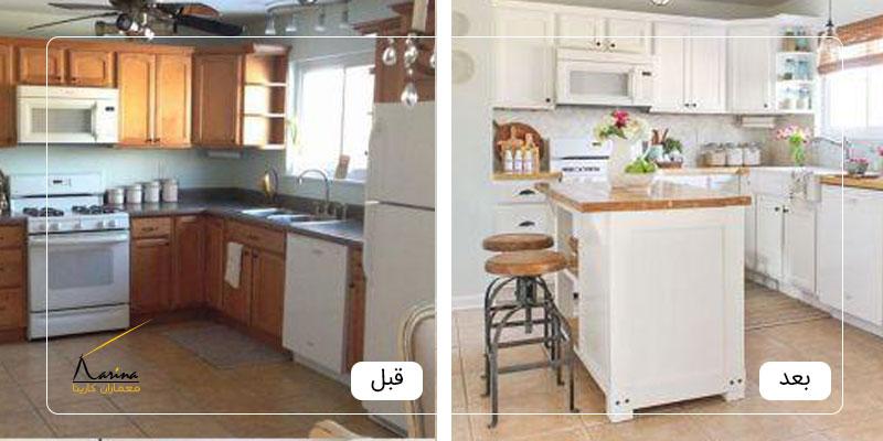 بازسازی خانه قدیمی قبل و بعد