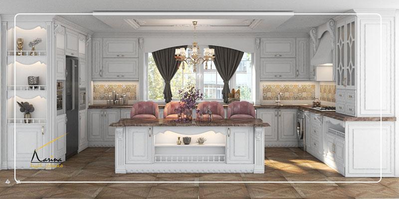 طراحی کابینت کلاسیک