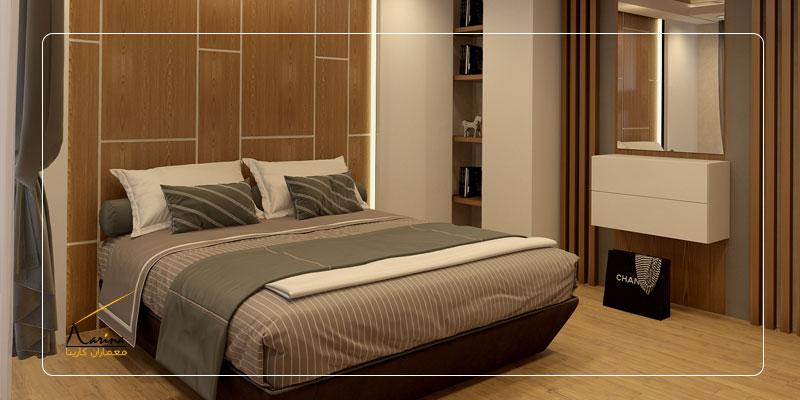 طراحی اتاق خواب لوکس